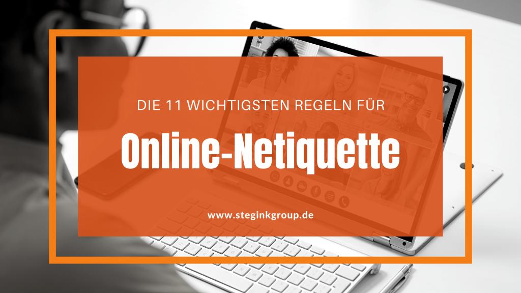 Blogtitel Online-Netiquette